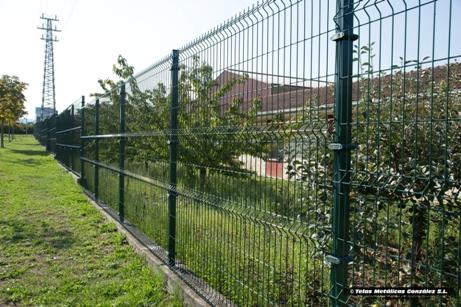 Vallas metalicas para jardin simple para piscinas - Vallas jardin metalicas ...