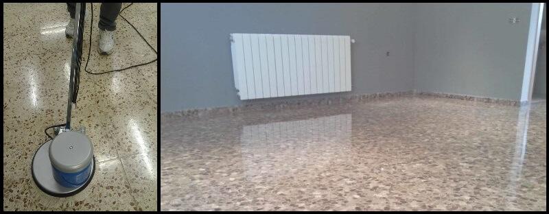 Cómo limpiar, pulir y abrillantar un suelo de terrazo