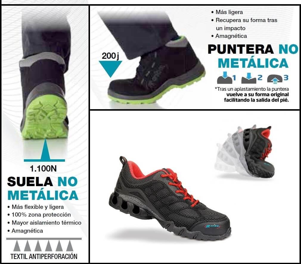 10f13463f0e45 Calzado de Seguridad Metal Free  Ventajas e Inconvenientes