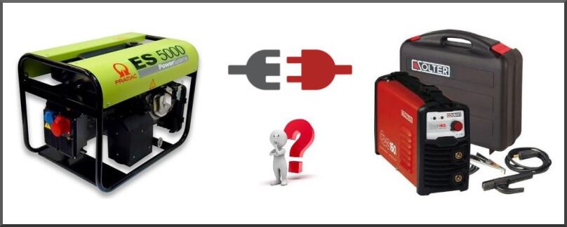 ¿Es un soldador inverter apto para un generador de corriente?