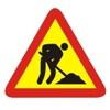 Carteles y señales para obras