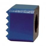 Bujarda sin mango en metal duro de 40x40 mm. 16 dientes