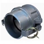 Racor camlock Hembra-Rosca macho - TIPO B - 50mm 2'