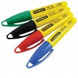 Marcador mini punta fina Stanley - Blister 4un. multicolor