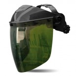 Visor para pantalla facial ROCKET Verde IR 5.0 para soldadura 2188-VRV5