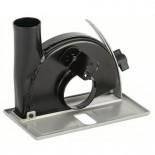 Carril guía con racor de aspiración de 35mm Bosch - 115/125mm