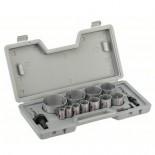 Juego de 14 sierras de corona bimetálicas Bosch HSS