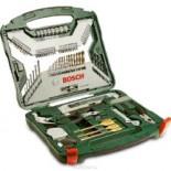 Maletín Bosch X103Ti de 103 piezas para taladrar y atornillar