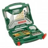 Maletín Bosch X70Ti de 70 piezas para taladrar y atornillar + Camiseta