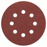Hoja de lija Bosch de 125mm C430 - Grano 120 (Caja 5 unidades)