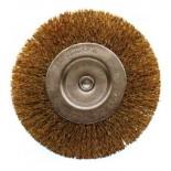Cepillo Circular Acero Latonado Alambre Ondulado Bellota Ref.50807-50
