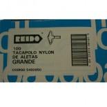 Taco Tacapolo Grande Nylon Broca de 8 mm. (100 un.)