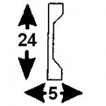 Cornisa F-03/2  (Unidad = 4 metros longitud)