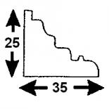 Cornisa S-06/1 (Unidad = 4 metros longitud)
