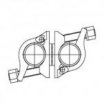 Abrazadera giratoria FERMAR - Ø48mm
