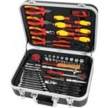 Kit herramientas electricista MetalWorks BTK68VA de 68 piezas