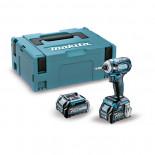 Makita TD001GD201 con 2 baterías 2,5Ah - Atornillador de impacto BL 40Vmáx XGT 220 Nm