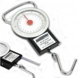 Balanza de resorte Mannesmann con flexómetro - 22 kg