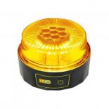 Baliza de emergencia LED 2 modos de luz Naranja/Blanca