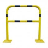 Barrera de protección Amarilla/Negra MetalWorks BAR400NJ de 40x1000x1000mm