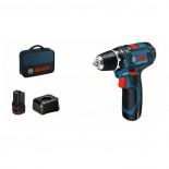 Taladro atornillador a batería Bosch GSR 12V-15 Professional - Con 2 baterías en Bolsa