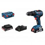 Bosch GSB 18V-55 Professional + 2 baterías 2Ah - Taladro atornillador a batería