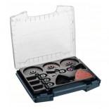 Maletín de accesorios para multiherramienta Bosch i-BOXX Pro de 34 piezas