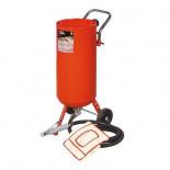 Chorreadora de arena MetalWorks CAT020RA de 75 litros