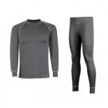 Camiseta y malla Oxford/gris melange 288-FLK