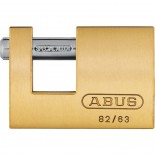 Candado Monoblock 82/63 Abus rectangular laton - 63 mm