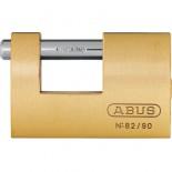 Candado Monoblock 82/90 Abus rectangular laton - 90 mm