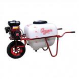 Campeón CP4-1001 - Carretilla pulverizadora a gasolina de 4 tiempos 97cc