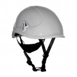 Casco de protección ABS Tractel TR-2000 con barbuquejo y ruleta color Blanco