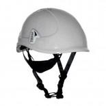 Casco de protección ABS Tractel TR-2000 con barbuquejo y ruleta color Blanco