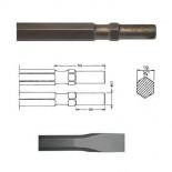 Cincel hexagonal inserción Hilti TP 400 - 500mm