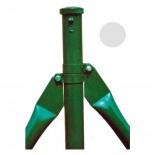 Poste refuerzo de Ø48mm galvanizado Mod. CS - 0'80 metros