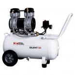 Compresor de aire MetalWorks Silent 50 de 50 litros