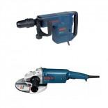 Martillo Bosch GSH 11 E + Amoladora GWS 20-230 H