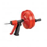 Desatascador manual POWER SPIN con avance automático + Cable 7,6 mts.