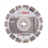 Disco de diamante Best for Concrete Bosch para amoladoras de 230mm