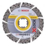 Disco de diamante universal Bosch X-LOCK - 125mm