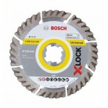 Disco de diamante universal Bosch X-LOCK - 125mm