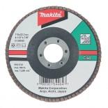 Disco de láminas para lijar piedra Makita de 115mm - Grano C40
