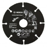 Disco multimaterial de carburo Bosch para amoladora - 115x22,23mm