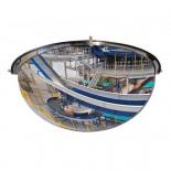 Espejo hemisférico de vigilancia MetalWorks MS180 180º de 650mm