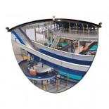 Espejo hemisférico de vigilancia MetalWorks MS90 90º de 650mm