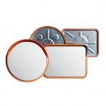 Espejo circulación acero inoxidable para exterior de Ø32cm