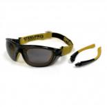 Gafas anti-empañamiento con Cinta y Patillas Mod. Dual ocular gris 2188-GDG