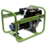 Generador Eléctrico Pramac E6500 - Monofásico - Diésel