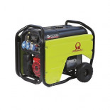 Pramac S8000 - Generador Eléctrico Monofásico CONN + DPP + AVR con Kit de transporte